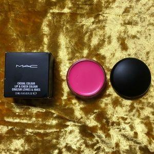 MAC Casual Colour Cream Lip & Cheek Discontinued